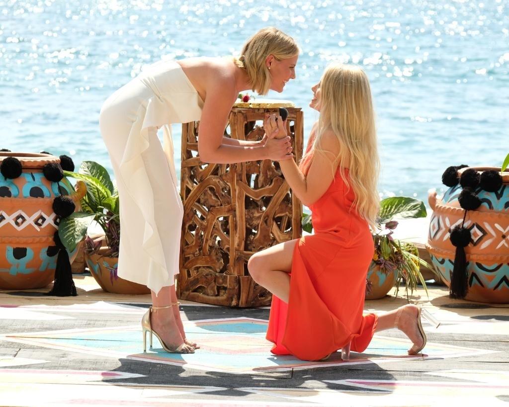 Впервые вфинале шоу «Холостяк» поженились две девушки