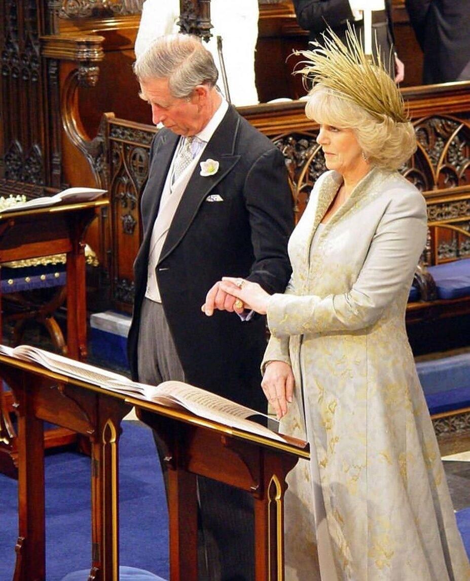 Свадьба принца Чарльза и Камил&...