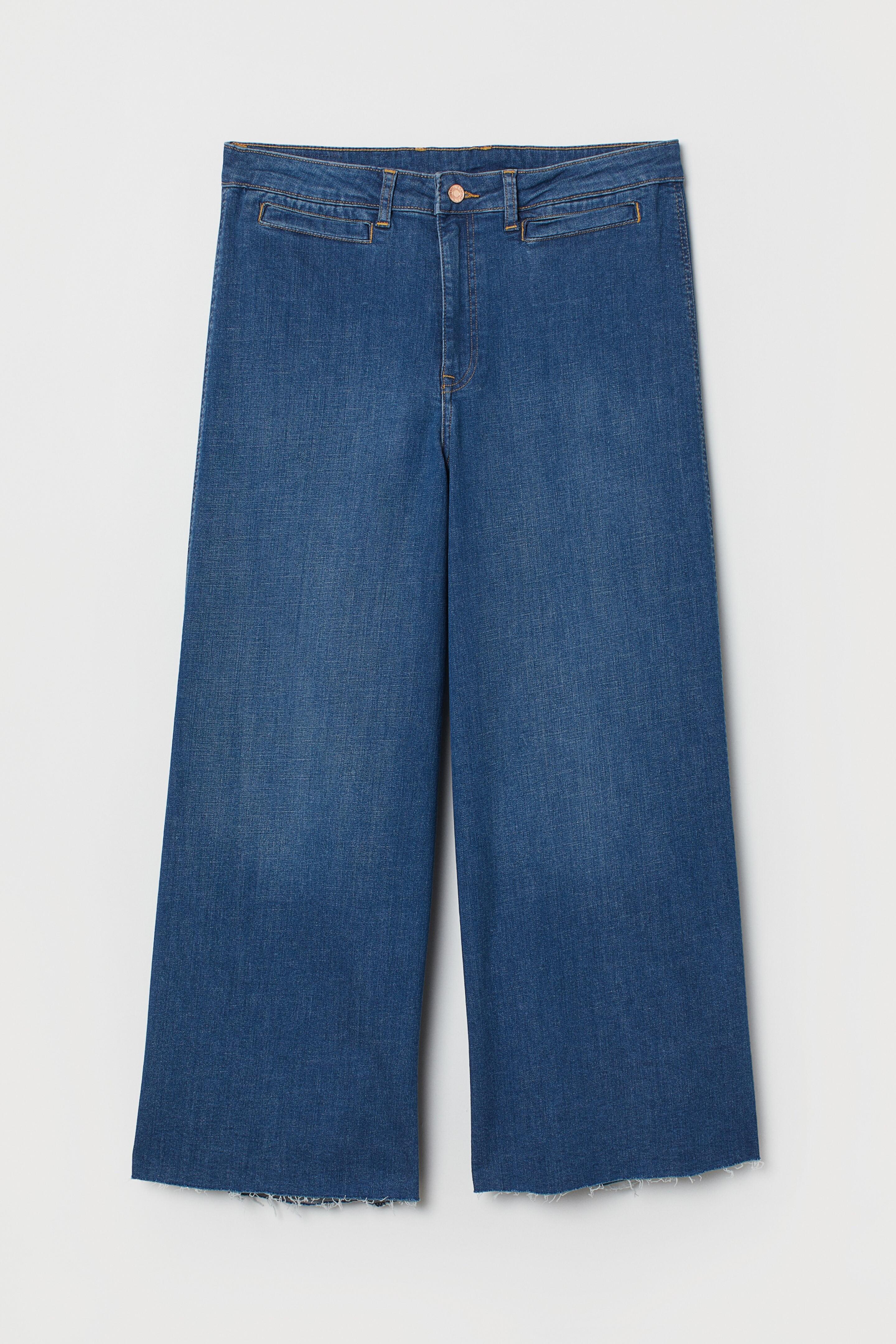 Широкие брюки и джинсы еще долг...