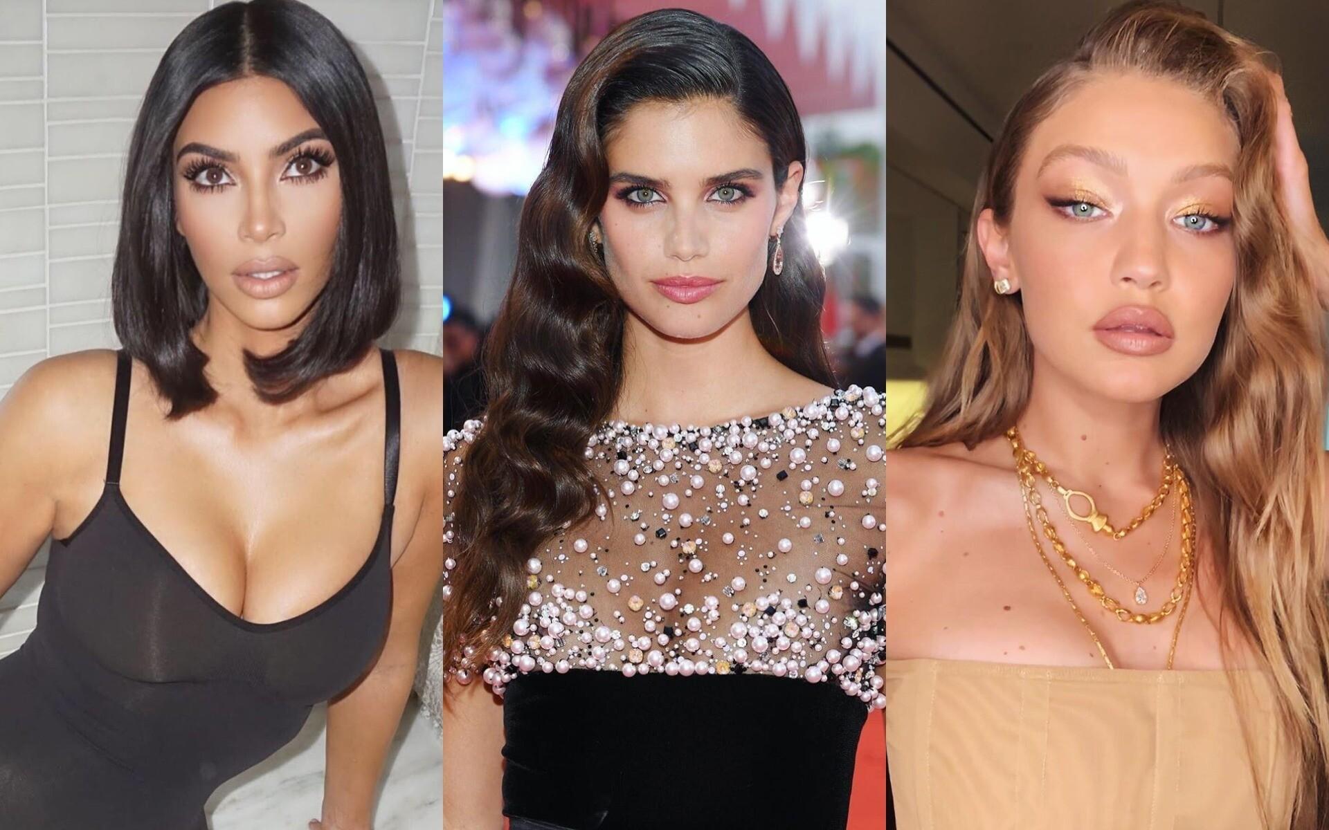 Красимся как Хадид, Кардашьян и другие звезды: тренды макияжа этой осени