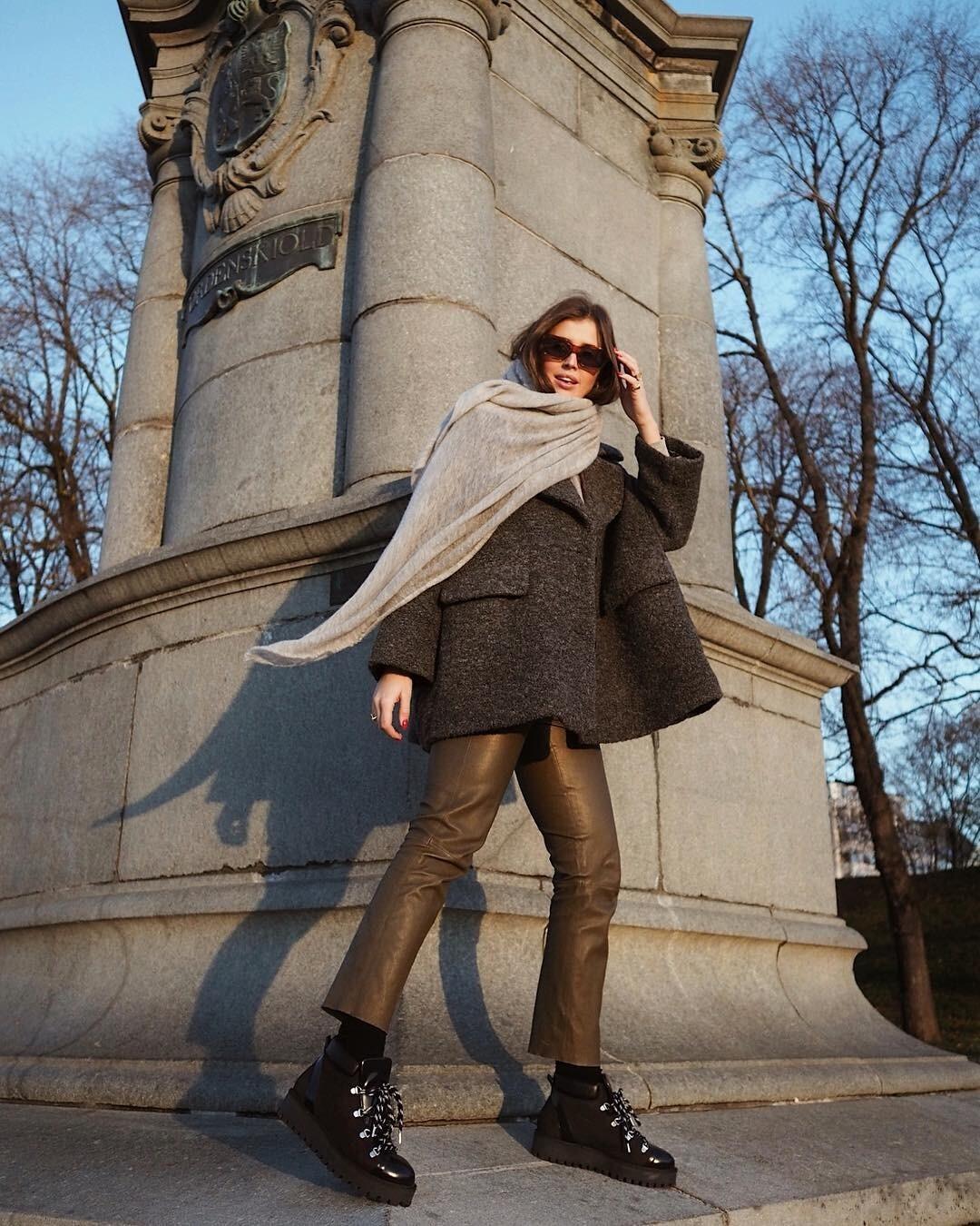5 модных (очевидных и не очень) способов носить шарф