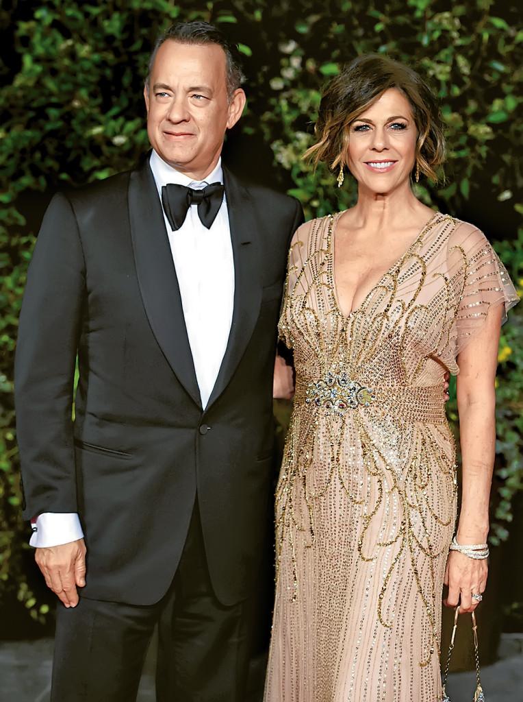 Хэнкс и Уилсон на премии BAFTA-2014. Фото: Burda Media