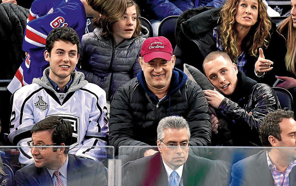 Том и его сын от первого брака Колин (слева). Фото: Burda Media