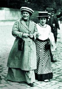 Клара Цетхен и Роза Люксембург