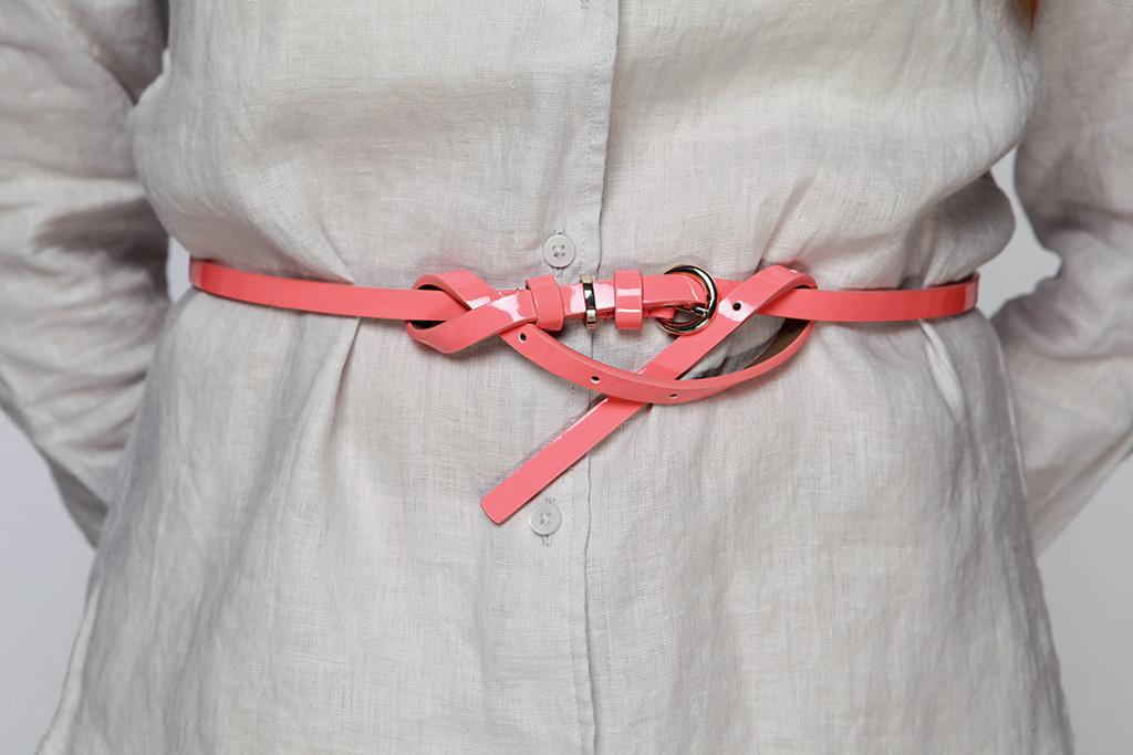 розовый ремень