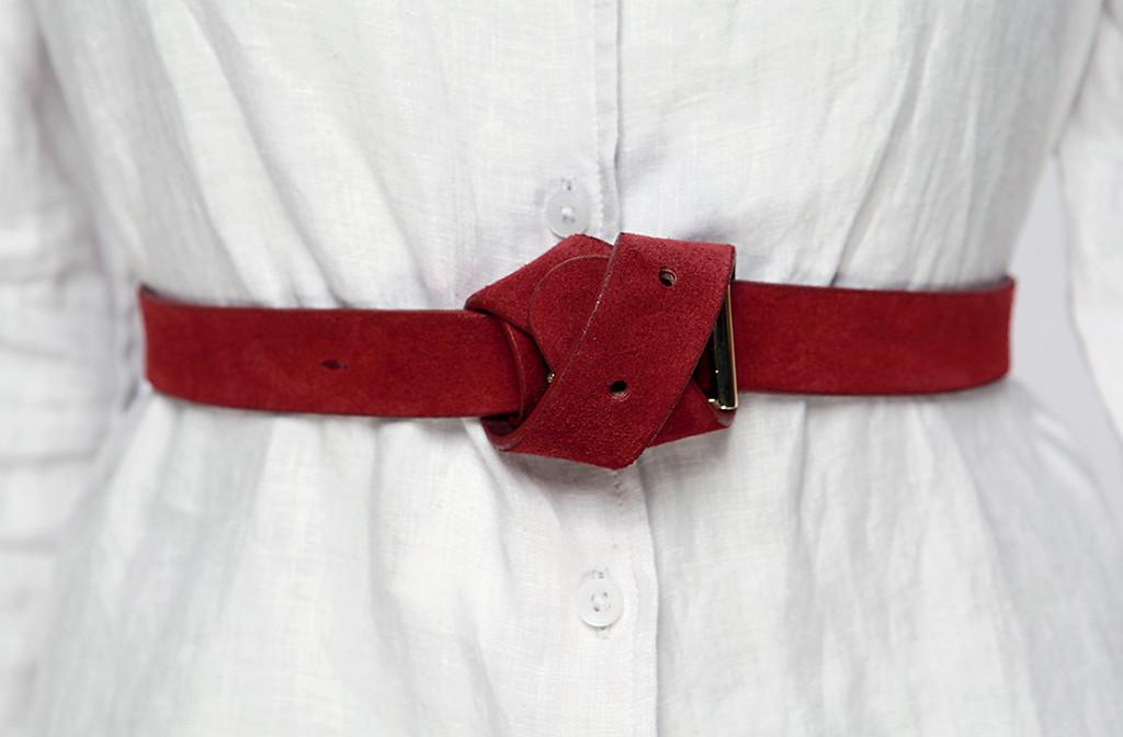 красный ремень