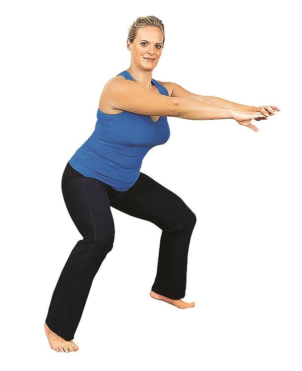 упражнение сприседанием