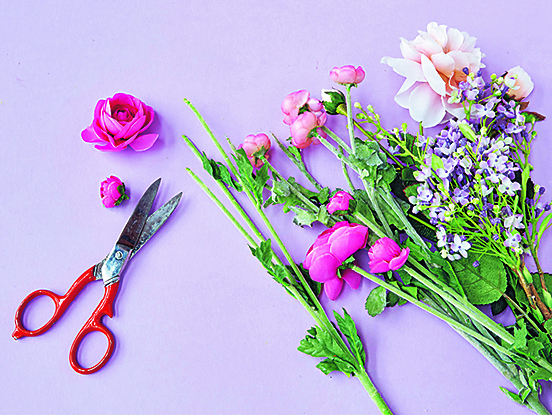 Цветочное панно шаг1