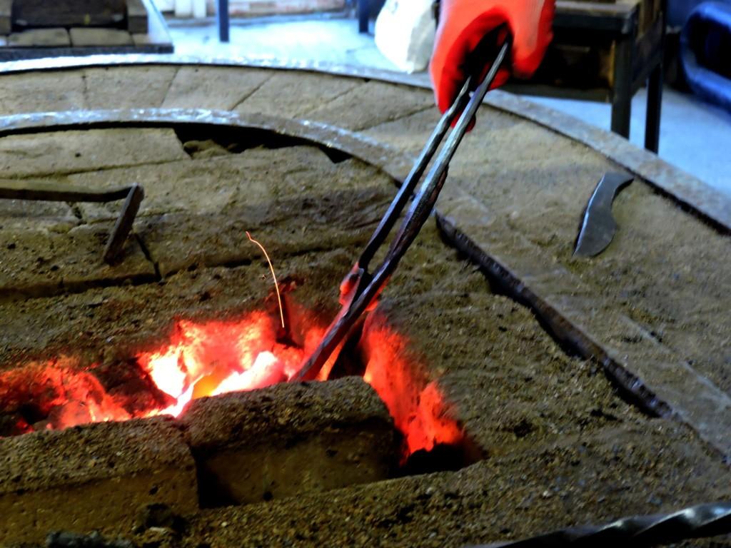 Огонь в кузнеце