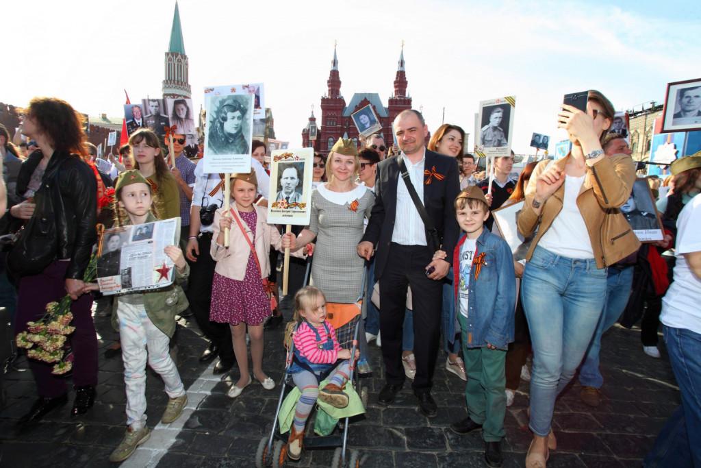 Светлана Павленко с семьей