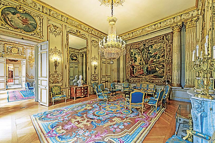 Фото: салон в Президентском дворце