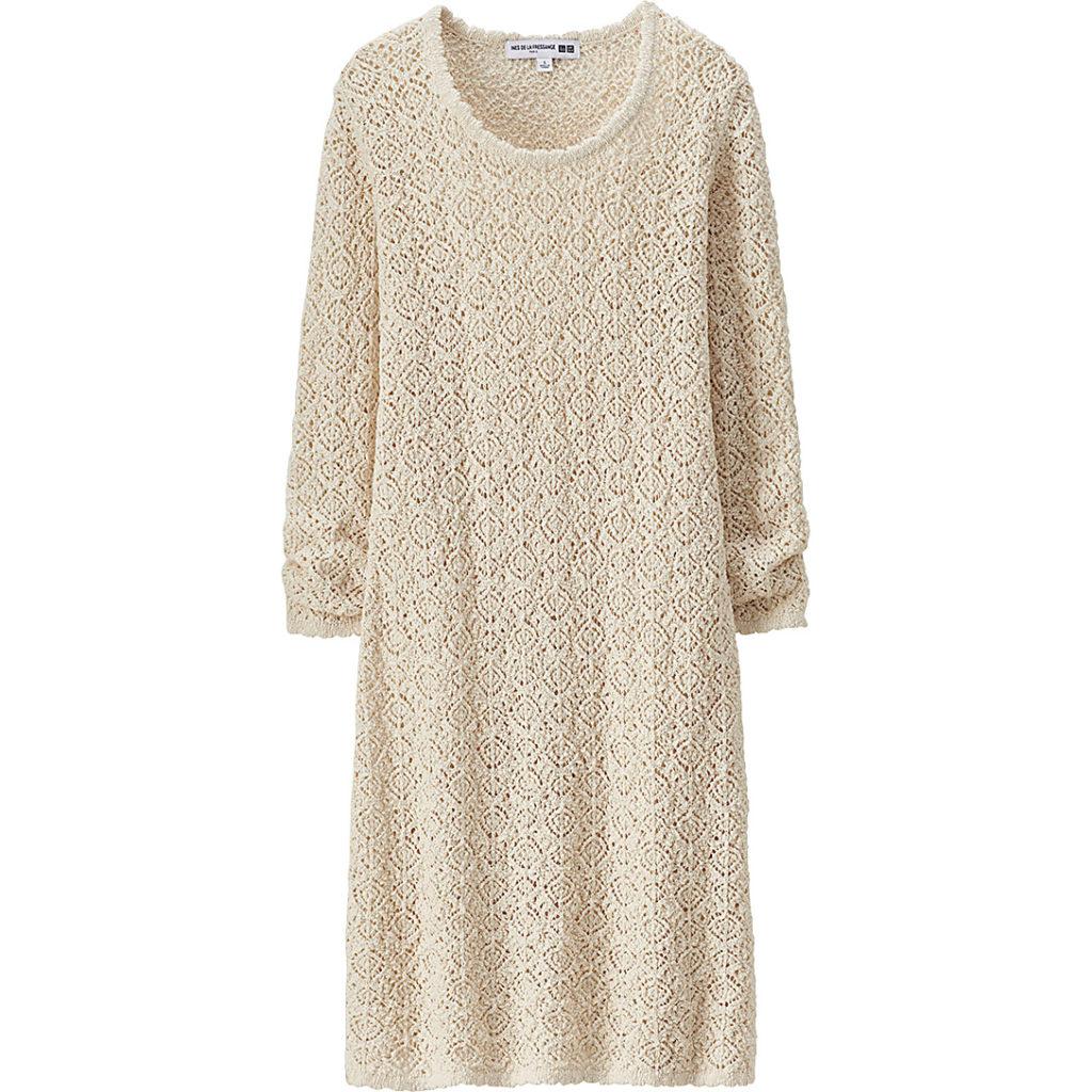 Платье uNiqlo, ок. 3500 руб.
