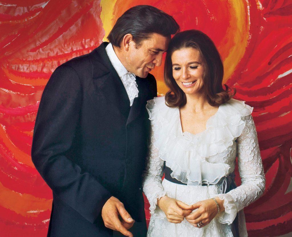 После свадьбы: признание в любви на концерте The Johnny Cash Show