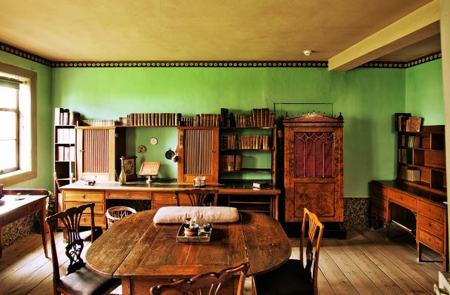 Рабочий кабинет Гете в Веймаре. Этот дом на Фрауэнплан показывают туристам