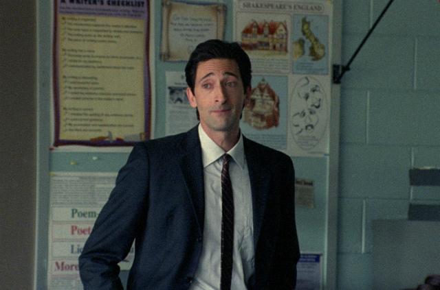 Кадр из фильма «Учитель на замену»