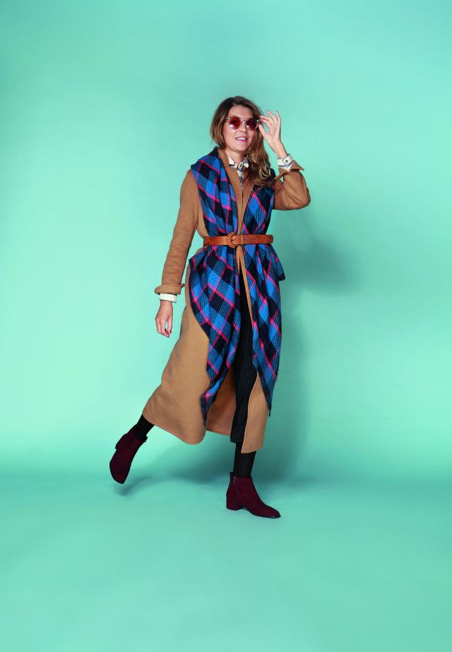 Палантин - деталь пальто
