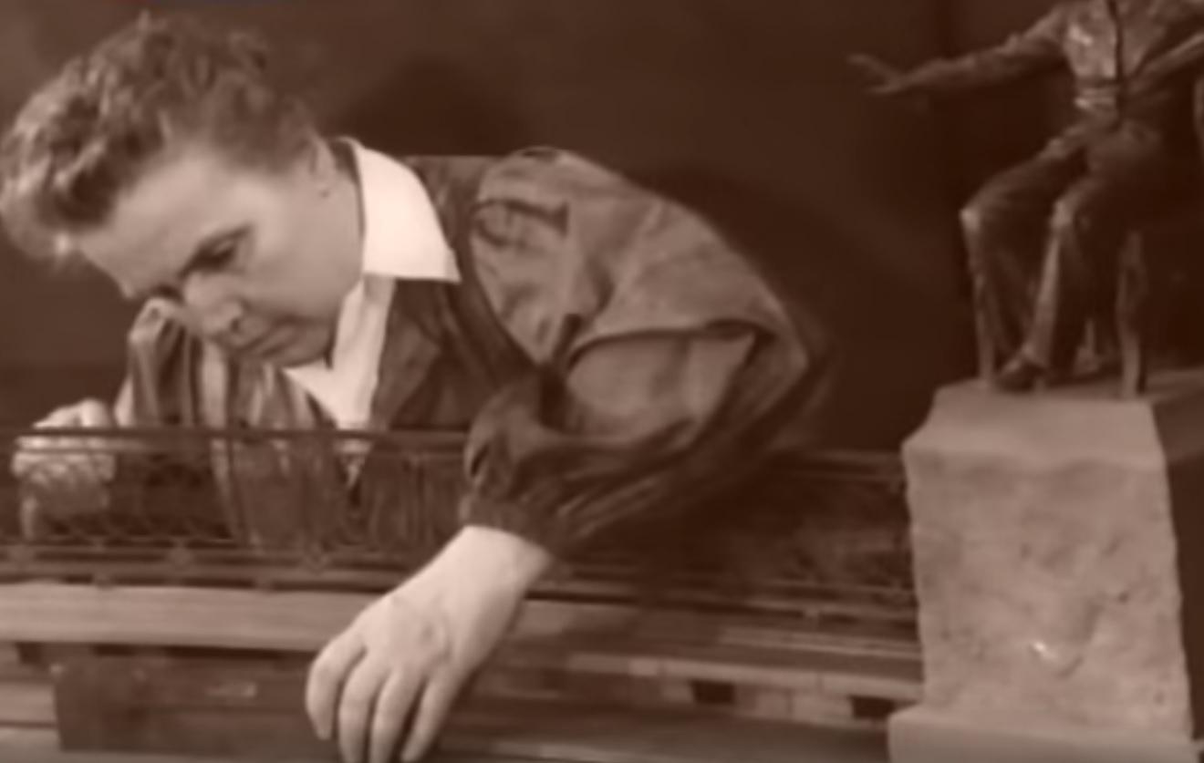 Вера Мухина. Кадр из передачи «Искусственный отбор» (телеканал «Культура»)