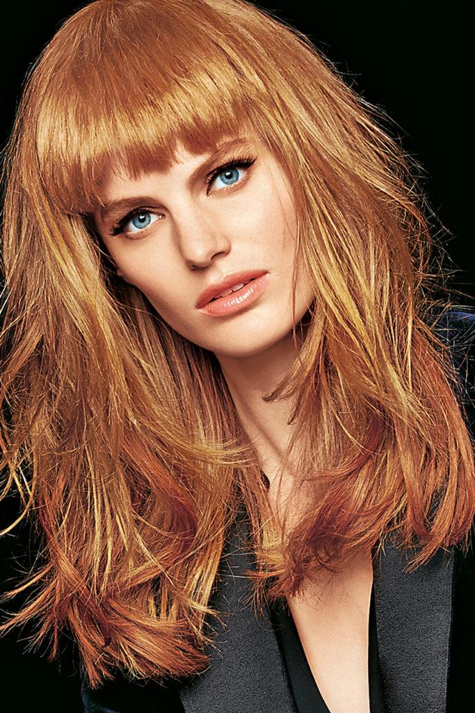 Медовая карамель цвет волос