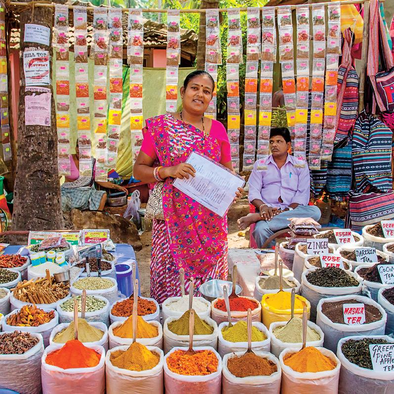 Специи с рынка— ароматный сувенир