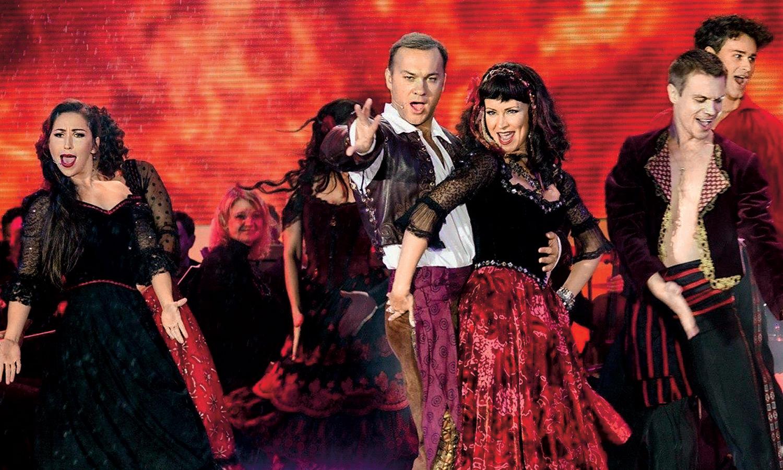 Нонна Гришаева — звезда мюзикла «Зорро». С Дмитрием Ермаком