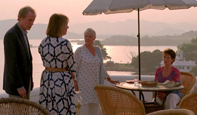 Кадр из фильма «Отель «Мэриголд»: лучший из экзотических»