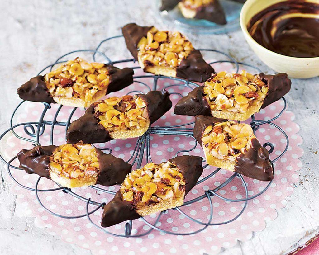 Ромбики с шоколадом