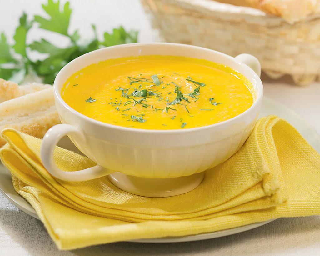 Овощной суп-пюре: два рецепта для вегетарианцев