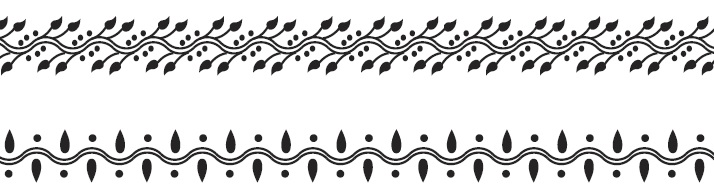 Рисунки хной или мехенди: как нарисовать узор на удачу