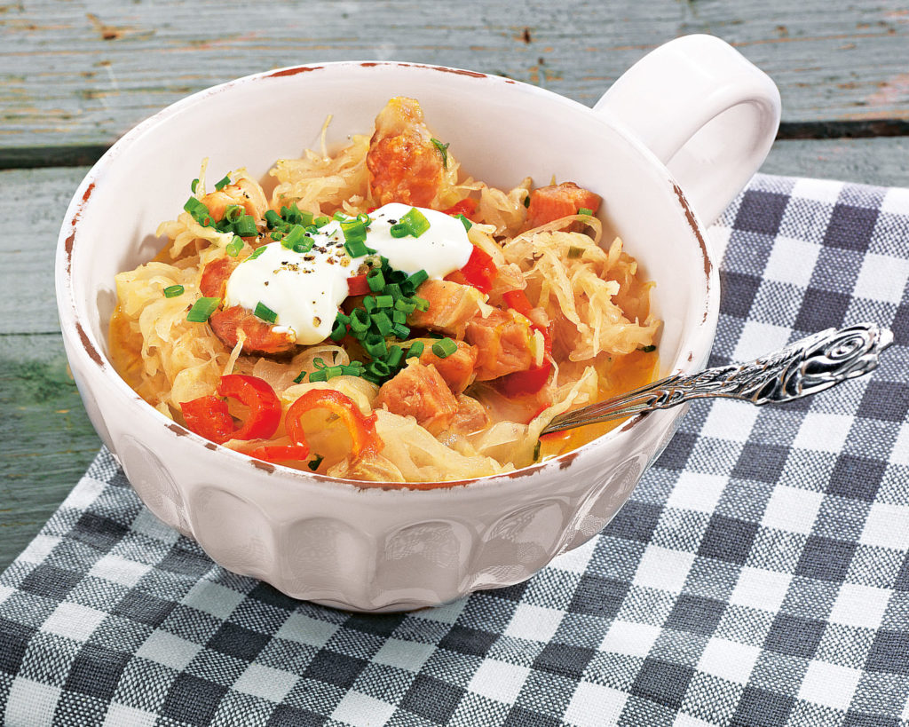 блюда из кислой капусты рецепты с фото