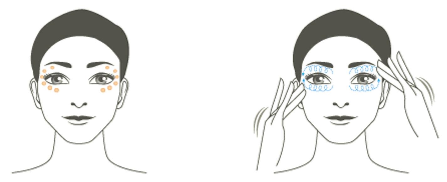 Секреты красоты: убираем темные круги иморщины вокруг глаз