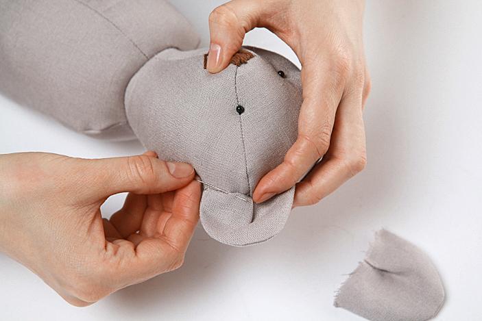 Трогательный мишка своими руками: мастер-класс