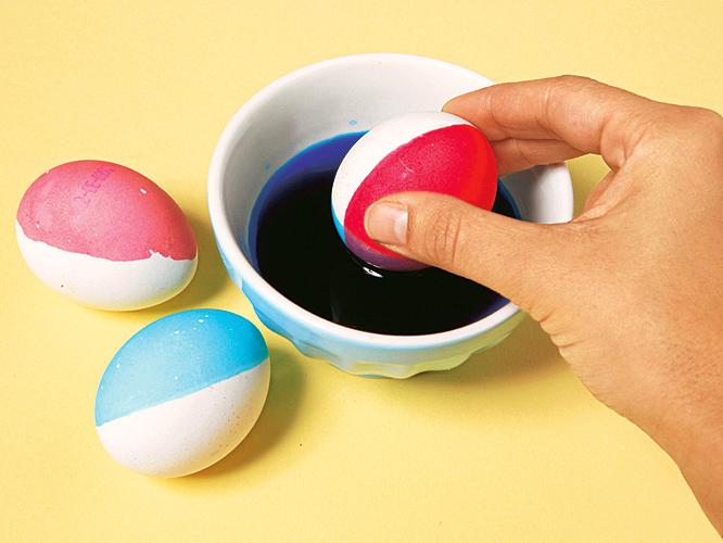 Яйцо дня: игра красок