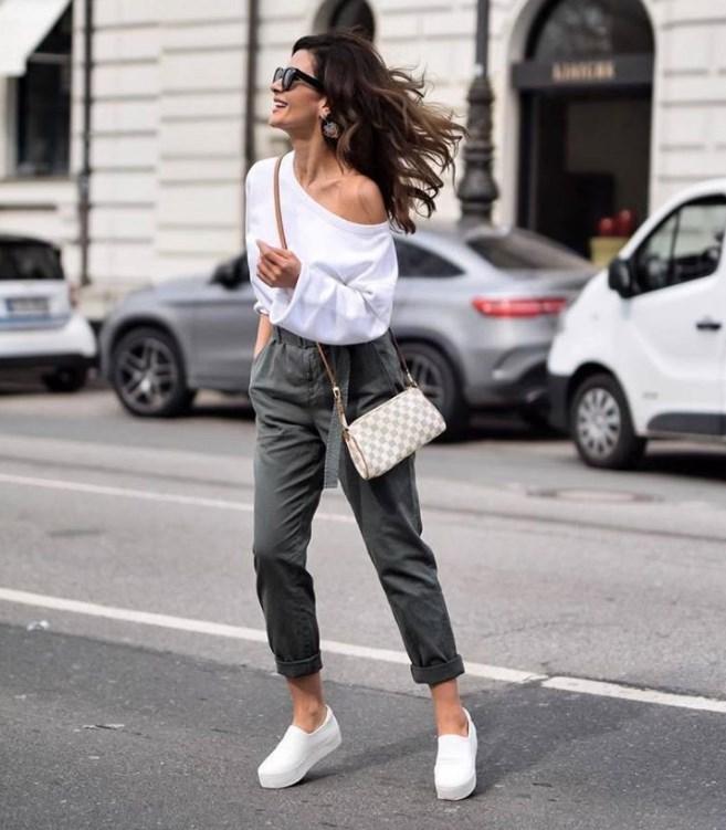 С чем носить слипоны: модные советы (фото)
