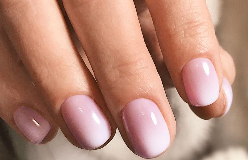 Красивая форма ногтей спомощью маникюра