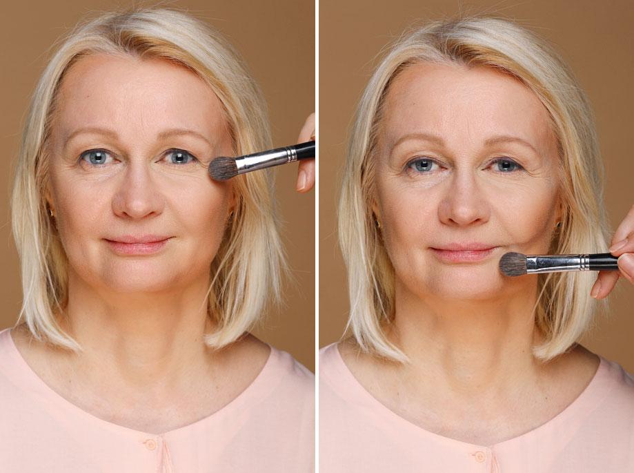 Как сделать антивозрастной макияж