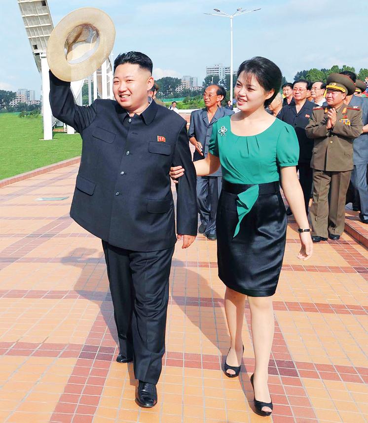 ким чен ын с женой фото нашем сайте можете