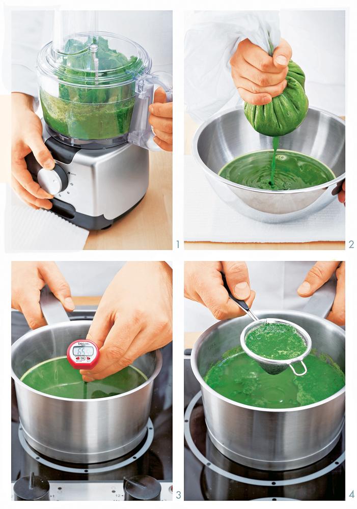 Зеленый пищевой краситель: пошаговый рецепт сфото