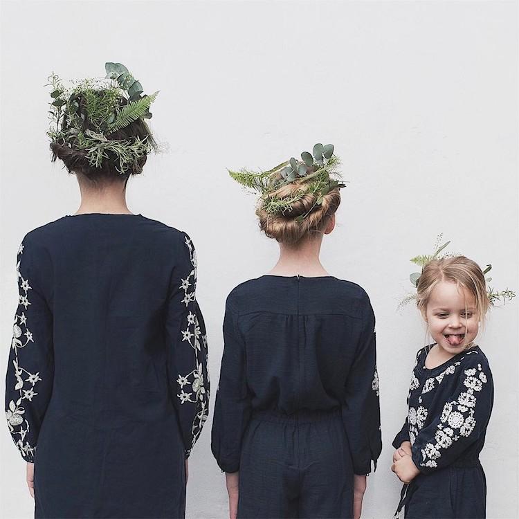 Блогер из Англии делает забавные снимки с дочерьми