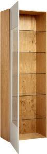 Стеклянные витрины вквартире: 7 вариантов сфото