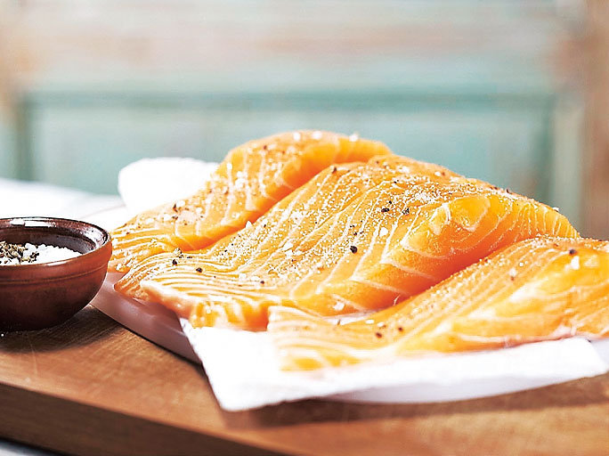 Как готовить простые блюда из лосося: мастер-класс