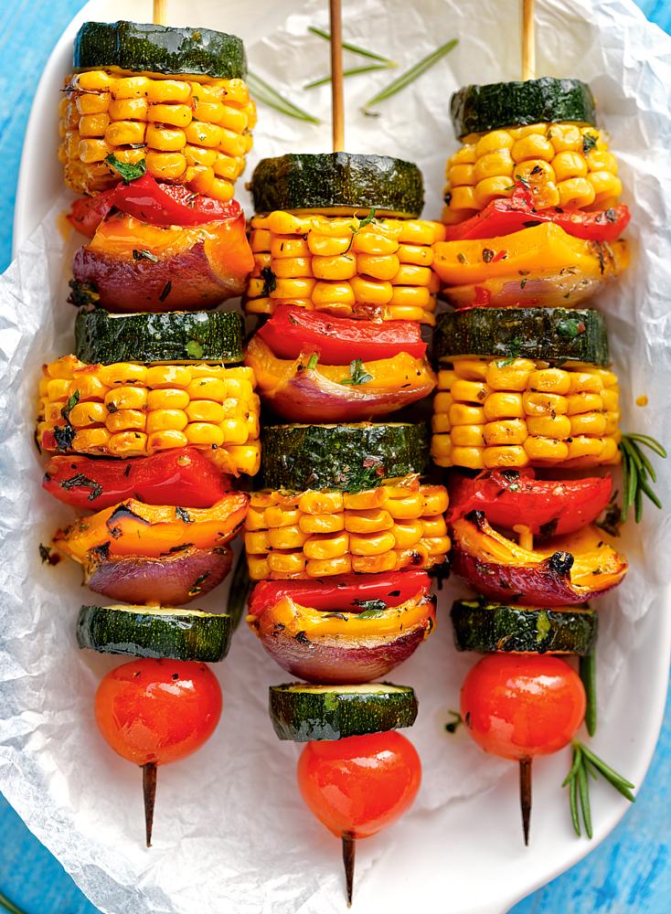 Блюда на мангале для вегетарианцев: 3 рецепта
