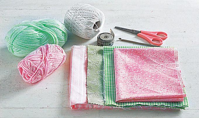 Как сшить авоську из ткани своими руками