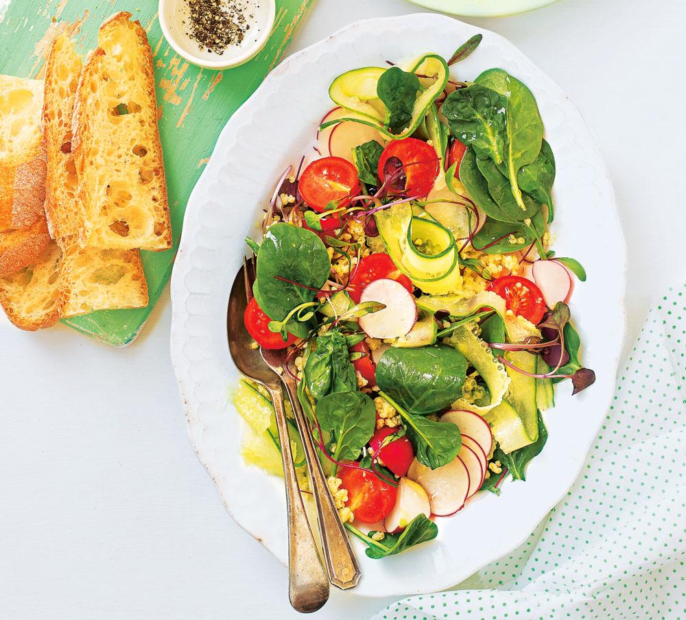 Блюда изшпината: 4 небанальных летних рецепта