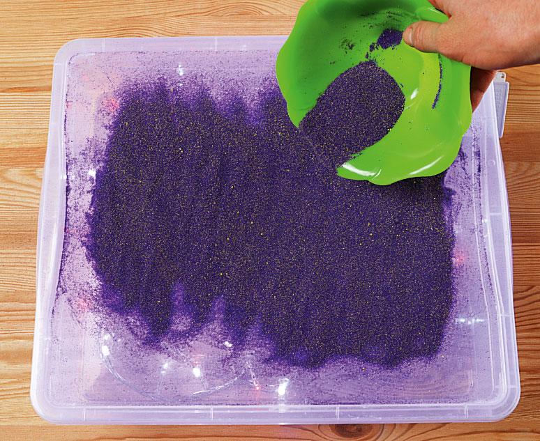 Песочная терапия: развивающие игры с песком для детей