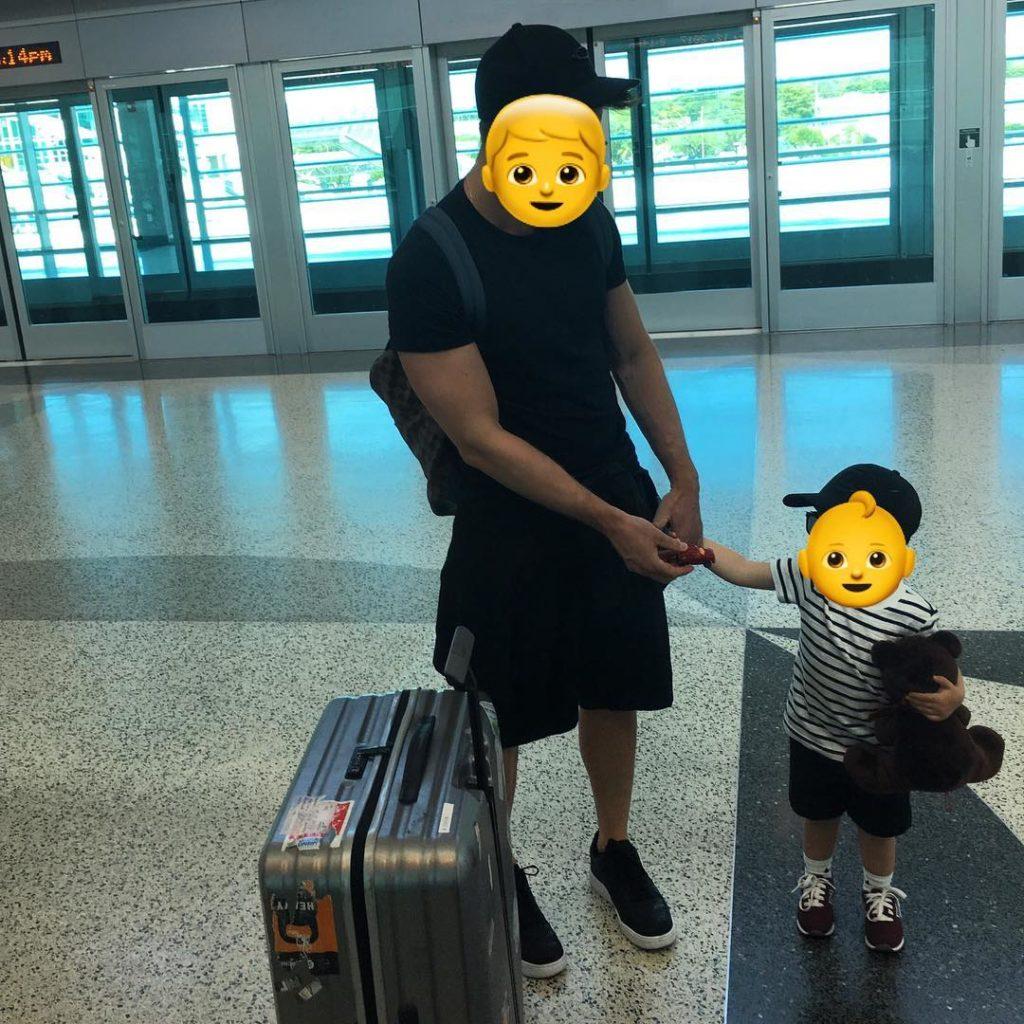 Сергей Лазарев показал фото с подросшим сыном