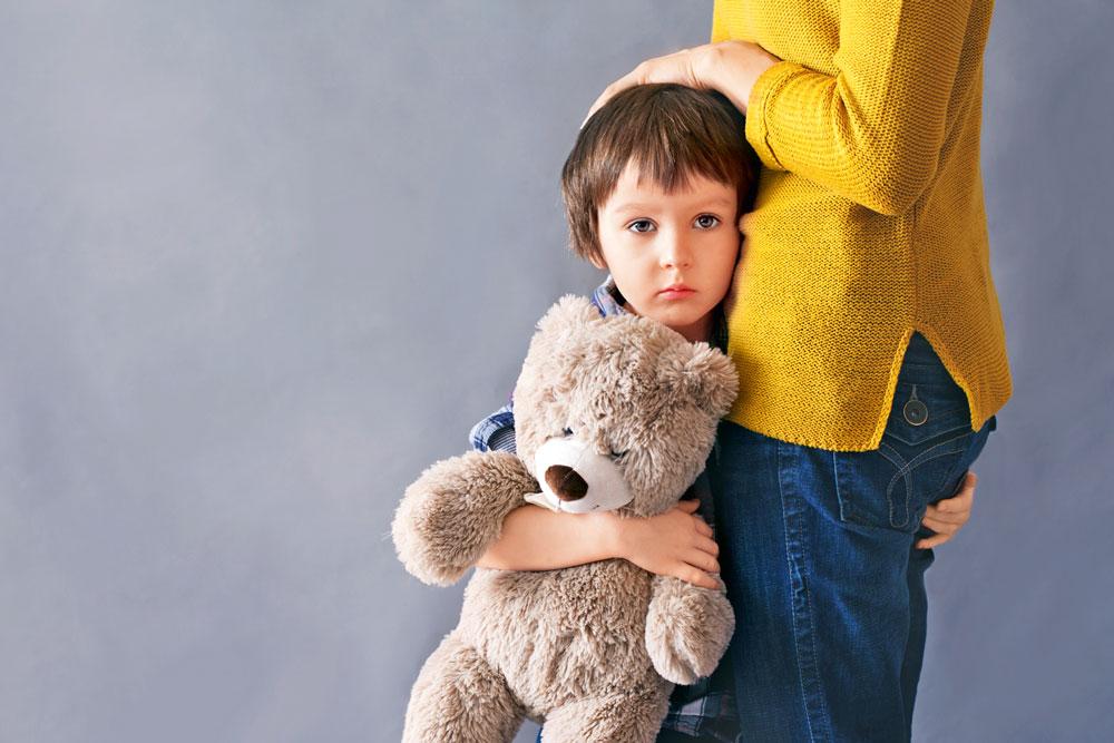 Как разобраться со страхами ребенка