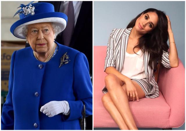 Елизавета II не довольна поведением Меган Маркл