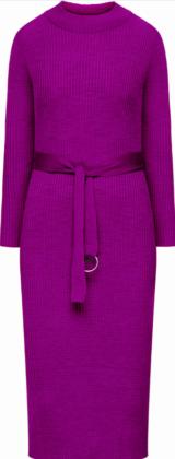 Вязаное платье с поясом Faberlic