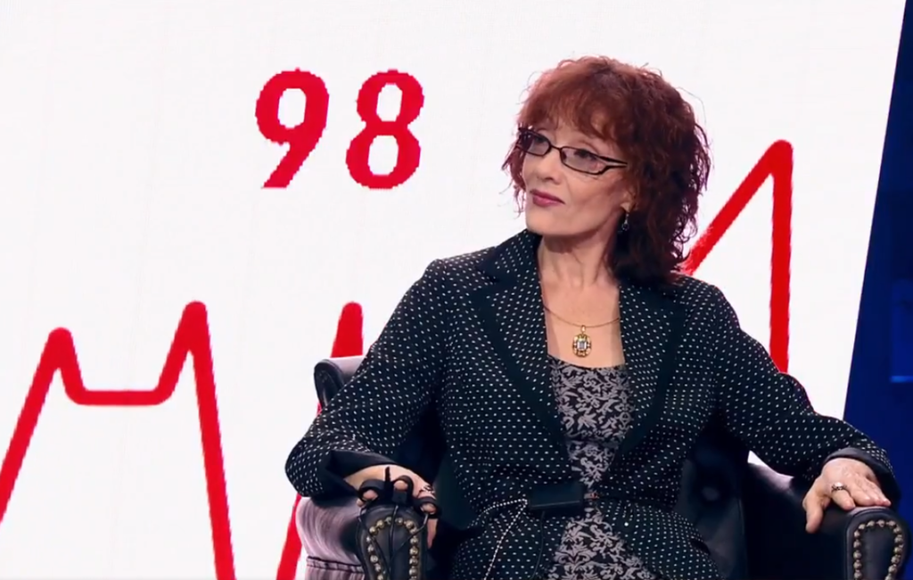 Ольга Зарубина (кадр из передачи)