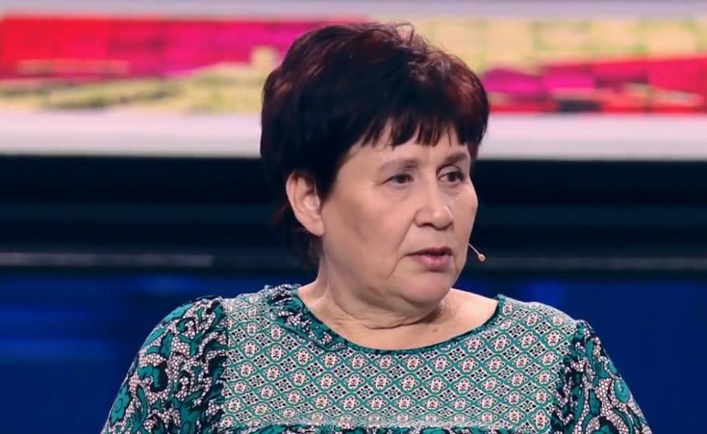 Татьяна Выгузова (кадр из передачи)